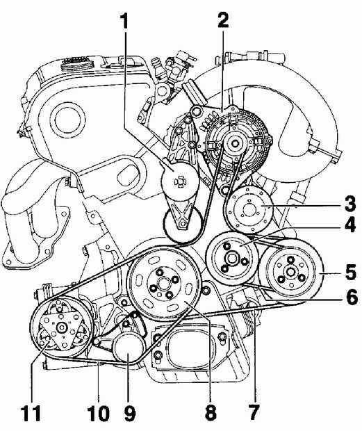 Схема двигателя санта фе фото 859