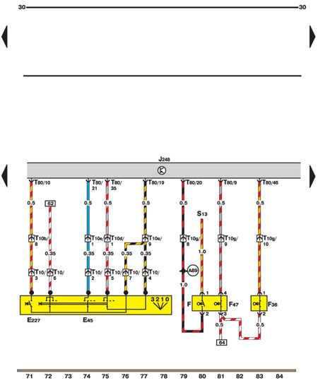 14.35.34 Датчики положения педалей акселератора и сцепления