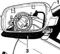 12.60 Корпус наружного зеркала Volkswagen Passat B5