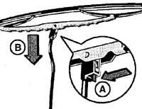 12.63 Замена резиновых лент щеток стеклоочистителей