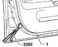 12.18 Внутренняя отделка двери Volkswagen Passat B5