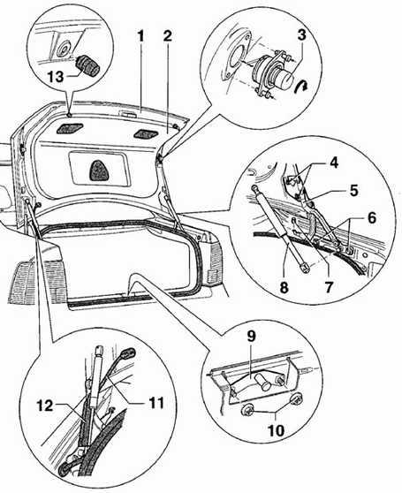 12.28 Крышка багажника