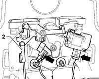 12.29.2 Цилиндр замка крышки багажника
