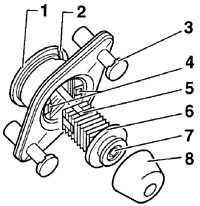 12.30 Регулировка положения крышки багажника/задней двери Volkswagen Passat B5