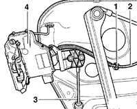 12.35 Замок двери Volkswagen Passat B5