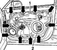 12.37 Стекло двери Volkswagen Passat B5