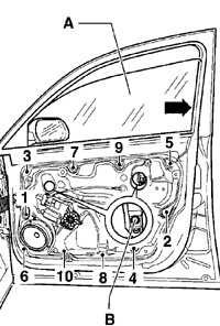 12.38 Кронштейн двери Volkswagen Passat B5