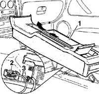 12.40 Центральная консоль Volkswagen Passat B5