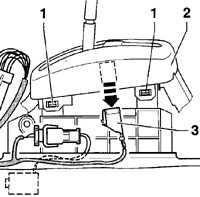 12.43 Декоративная накладка рычага (автоматическая коробка передач) Volkswagen Passat B5