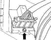 13.6 Блок резисторов отопителя