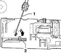 13.7 Блок управления отопителем и кондиционером Volkswagen Passat B5