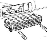 13.2 Вентиляционные сопл Volkswagen Passat B5