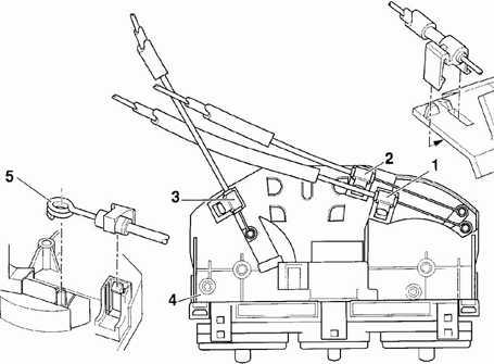 13.5 Блок управления отопителем Volkswagen Passat B5