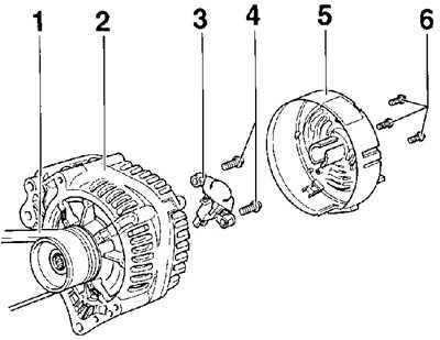 14.10 Генератор Volkswagen Passat B5