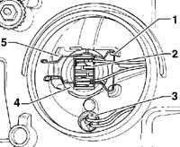14.15 Замена лампочек внешнего освещения Volkswagen Passat B5