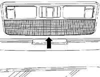 14.16 Замена лампочек внутреннего освещения Volkswagen Passat B5