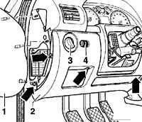 14.21 Комбинация приборов Volkswagen Passat B5