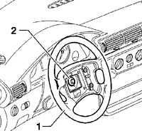 14.22 Многофункциональные переключатели рулевой колонки Volkswagen Passat B5