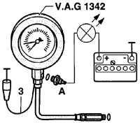 3.7.8 Проверка давления масла и датчика давления масла