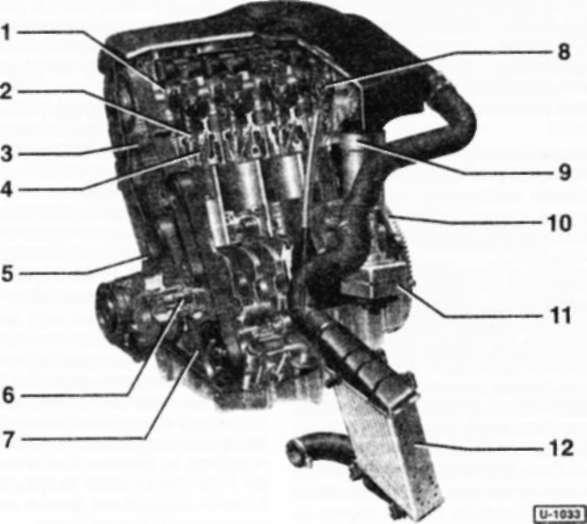1.7 4-цилиндровый дизельный двигатель