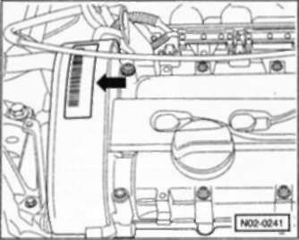 1.4 Идентификация автомобиля и двигателя
