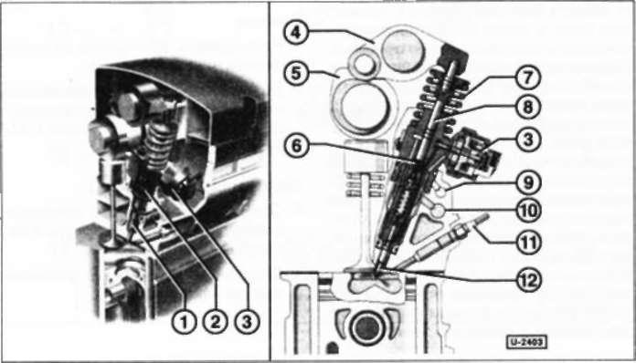 12.4 Топливный насос высокого давления/форсунка/насос-форсунка Volkswagen Polo