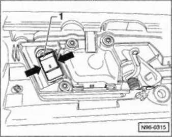 4.55.14 выключатель в двери пассажира рядом с водителем/в задней двери. Снятие
