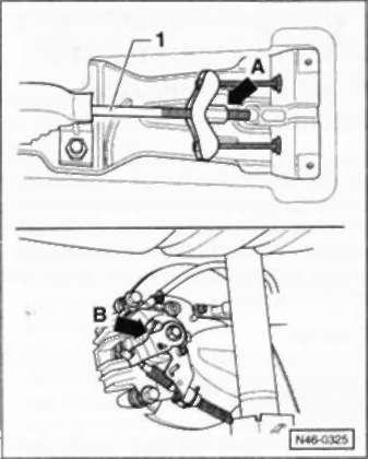6.12.5 Автомобиль с задними дисковыми тормозами