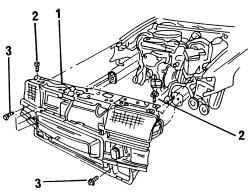 2.1.2 Снятие Volkswagen Polo