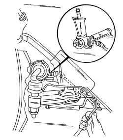 10.2 Регулировка люфта рулевого механизма