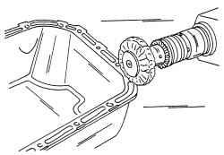 3.1 Снятие и установка масляного поддона Volkswagen Polo