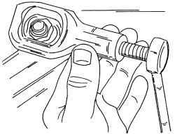 1.8 Правила обращения с резьбовыми соединениями, болтами, гайками Volkswagen Sharan