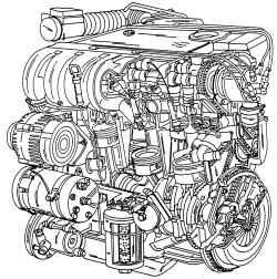 2.0 Двигатель VR6 Volkswagen Sharan