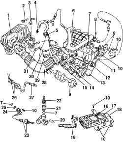 7.1 Общее описание и работа системы Simos Volkswagen Sharan