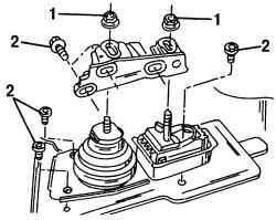 2.1.4 Подвеска двигателя