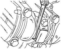 2.4.7 Установка поршней и шатунов Volkswagen Sharan