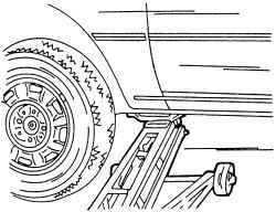 1.5 Правильный подъем автомобиля Volkswagen Sharan