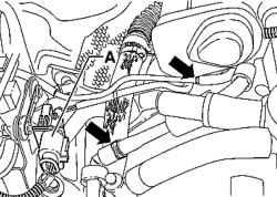 5.7 Датчик температуры охлаждающей жидкости - проверка и замена Volkswagen Touareg