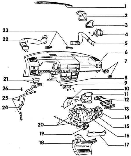 схема отопления автомобиля фольксваген