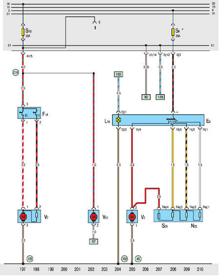 10.20.23 Вентиляторы систем охлаждения (150, 250W), обогрева и вентиляции