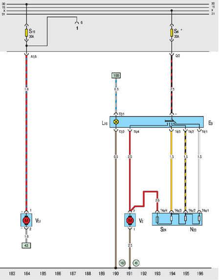 10.20.32 Дизель: вентилятор обогрева, дополнительный насос охлаждения