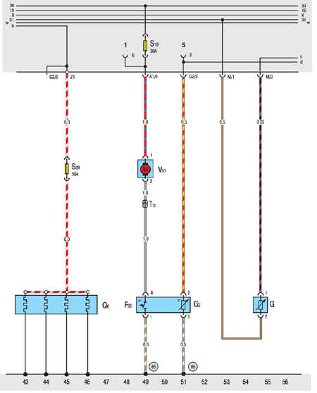 10.20.35 Дизель (ABL): свечи накаливания, дополнительный насос охлаждения